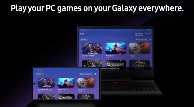 تطبيق بث الألعاب PlayGalaxy Link من سامسونج متاح الآن على أندرويد وويندوز