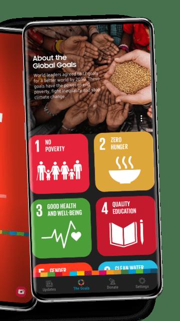 يتيح لك تطبيق سامسونج الجديد Global Goals المساهمة في تحقيق 17 هدفًا عالميًا