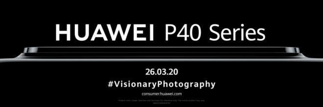 هواوي تكشف عن سلسلة هواتف P40 مع كاميرات مذهلة