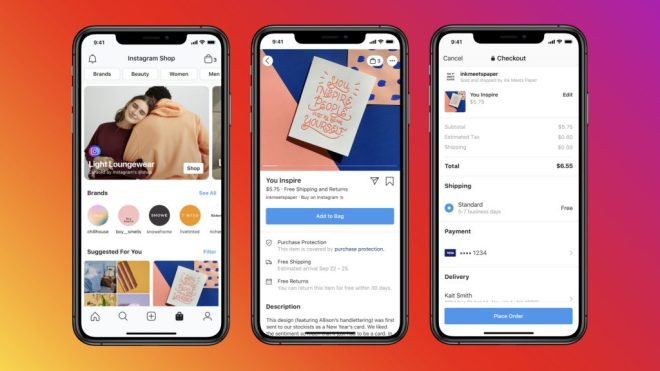 فيس بوك تطلق تبويب مستقل خاص بالتسوق عبر تطبيقها