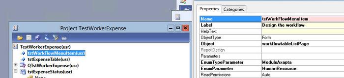 Custom Workflow from scratch, Dynamics Ax 2012