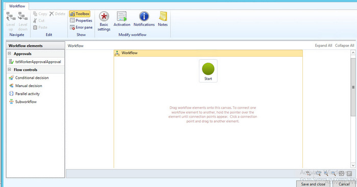 WorkFlowScreen