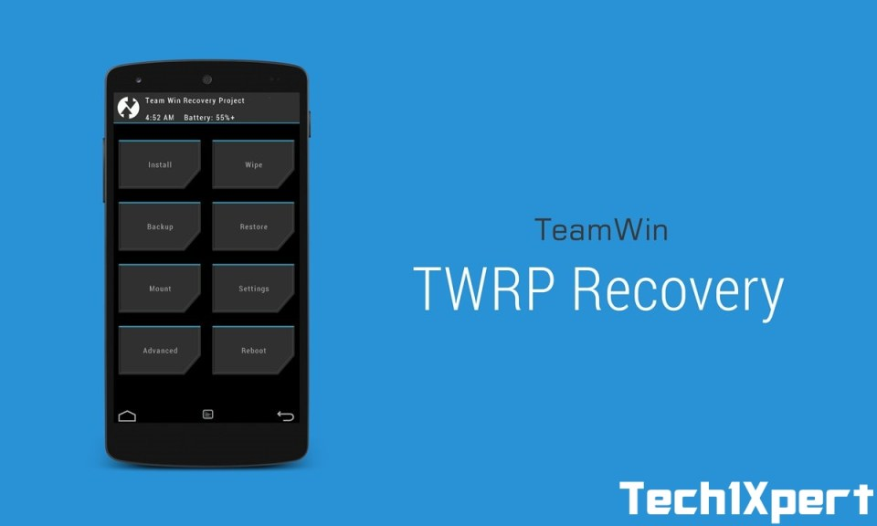 TWRP-Recovery password