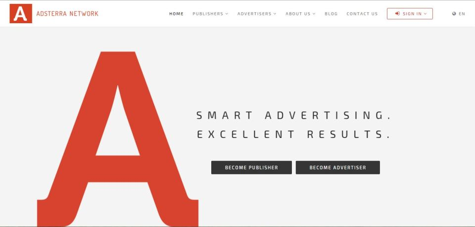 best ad networks adsterra