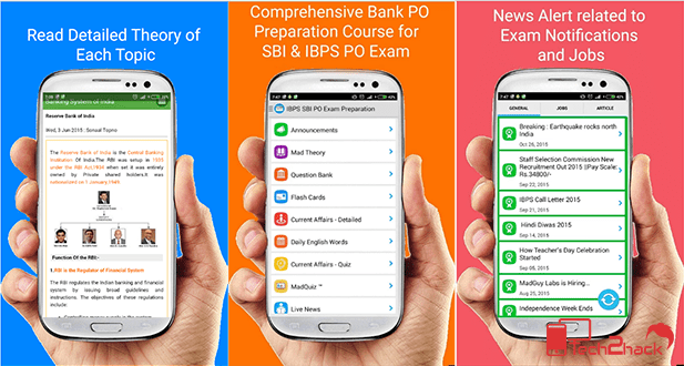 android apps for competitive exams-SBI PO Exam Preparetion