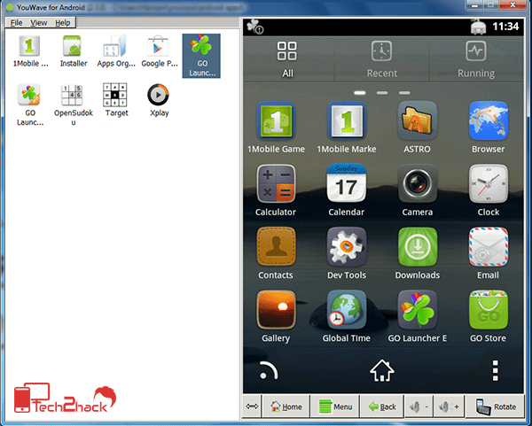 best android emulator for PC youwave