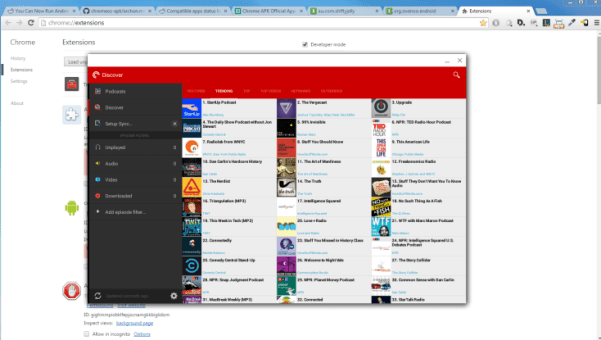 ARChon- best android emulator for pc to run android apps on pc