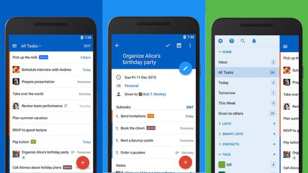 Out of Milk - Grocery & Shopping List Android App Features & Screenshot