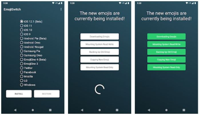Emoji Switcher app for Android - Screenshots - app to get ios emojis on android