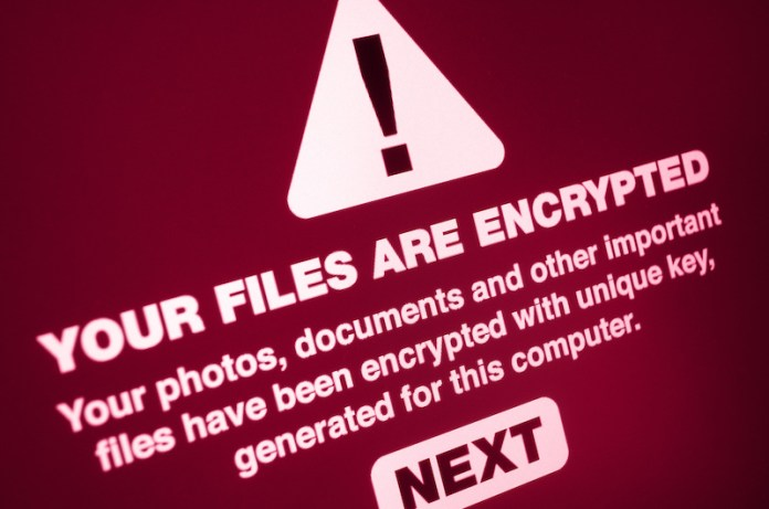 ransomware attack example , your files are encrypted.
