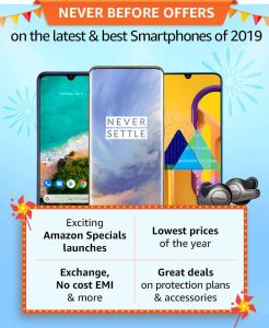 Amazon Great Indian Festival offer list 2019
