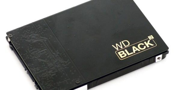 Western Digital Black 2 SSD+HDD Dual Drive