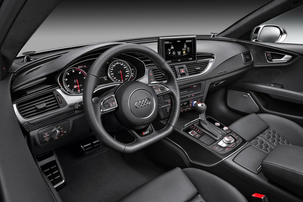 Audi RS7 in-car enterainment
