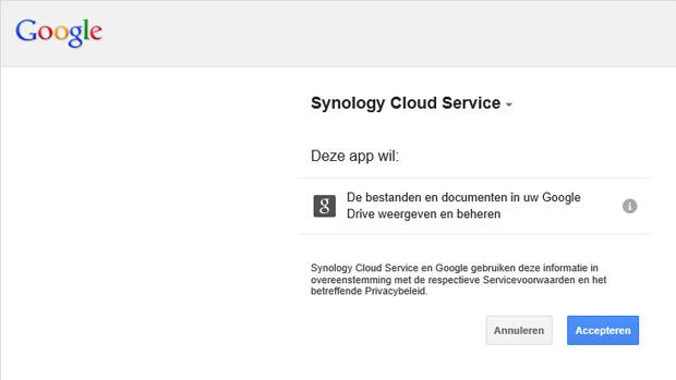 Synology Cloud Sync 03