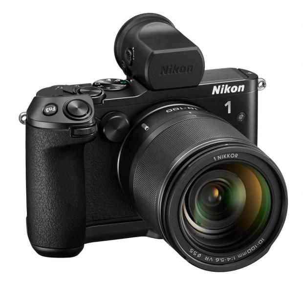 Nikon 1 V3 systeem camera voorkant
