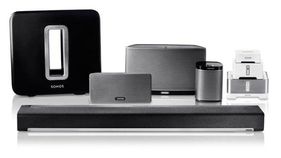 Sonos multi family