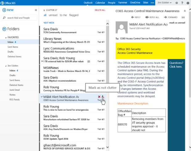 Office 365 - Microsoft evolutie van e-mail 03