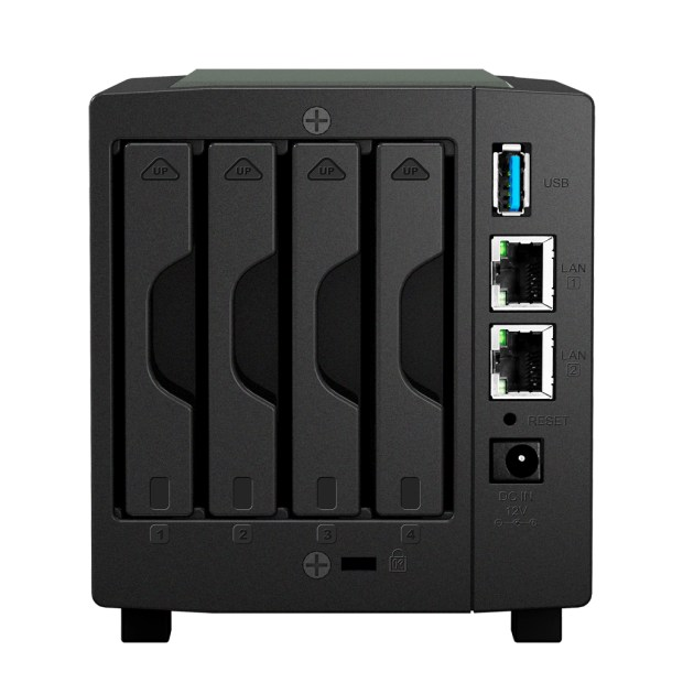 Synology DS414slim achterkant