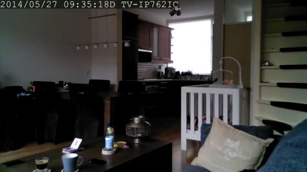 TRENDnet camera dag-modus