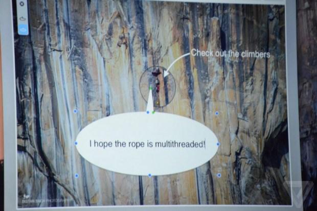 OS X Yosemite - Markup