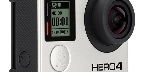GoPro Hero4 Black schuin voor