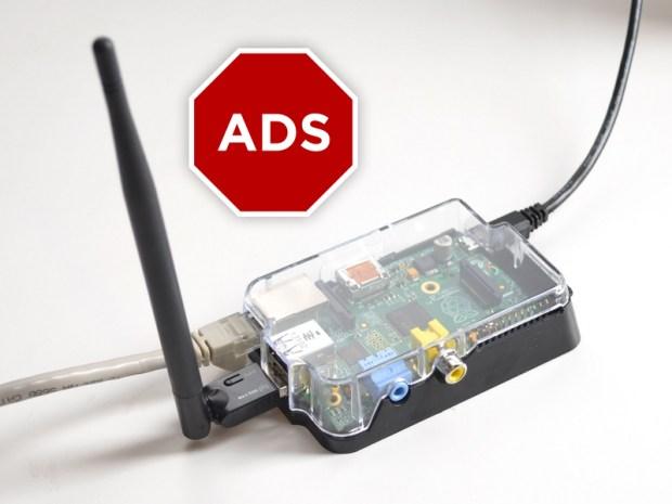 raspberry pi project Wi-Fi hotspot met ad-blocker