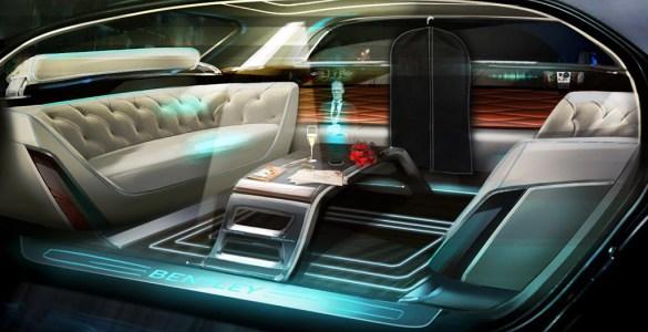 Bentley toekomst van luxe voertuigen