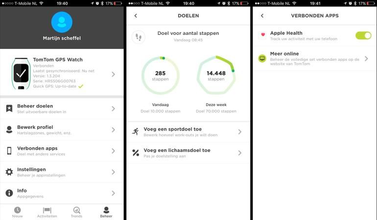 TomTom Sport app 01