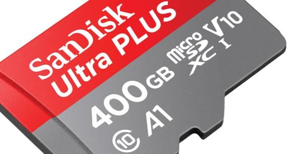 Sandisk 400GB microSD