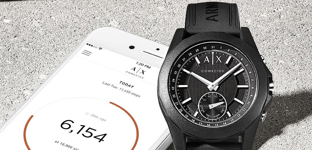AX Conntected Smartwatch