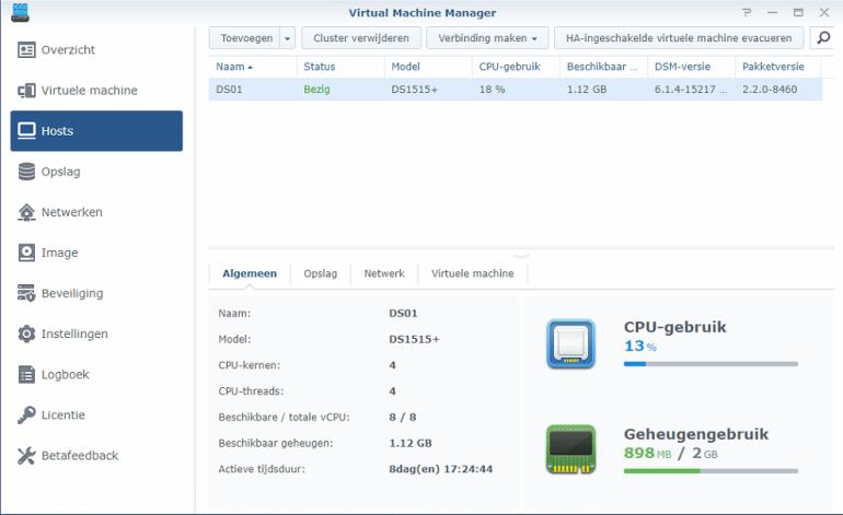 Synology Virtual Machine Manager installatie 07