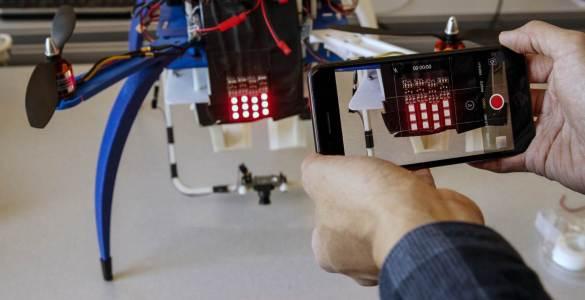 Ford Drone identificatiesysteem