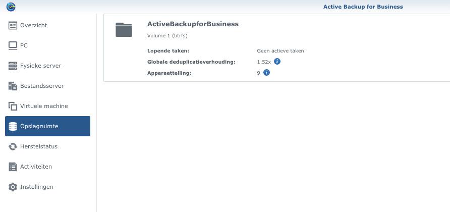 Synology Active Backup for Business: Alle mogelijkheden op