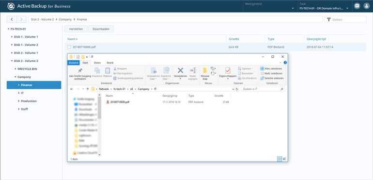 Synology Active Backup Restore File 05