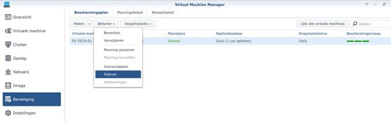 Synology VMM Snapshot replication Failover01