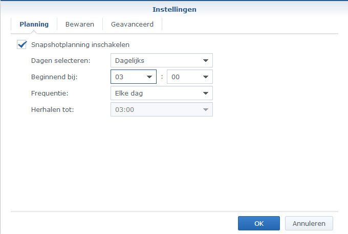 Synology Snapshot Replication 03