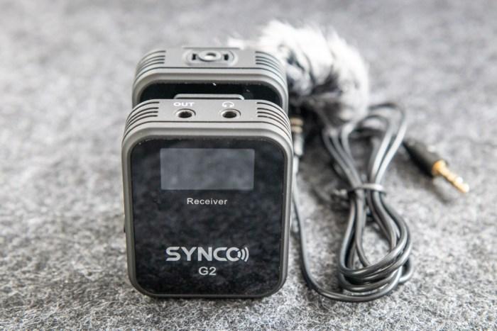 Synco Audio G2 microphone tech365 021