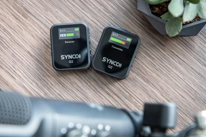 Synco Audio G2 microphone tech365 026