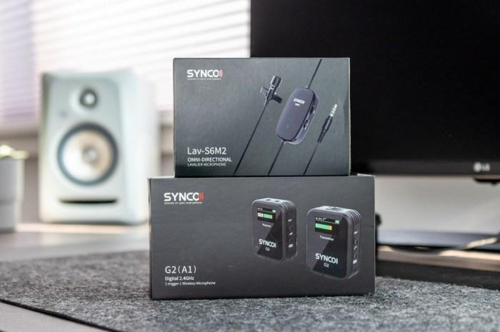 Synco Audio G2 microphone tech365 029
