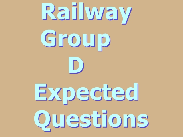 Railway Group D Expected Questions   RRB General Awareness question