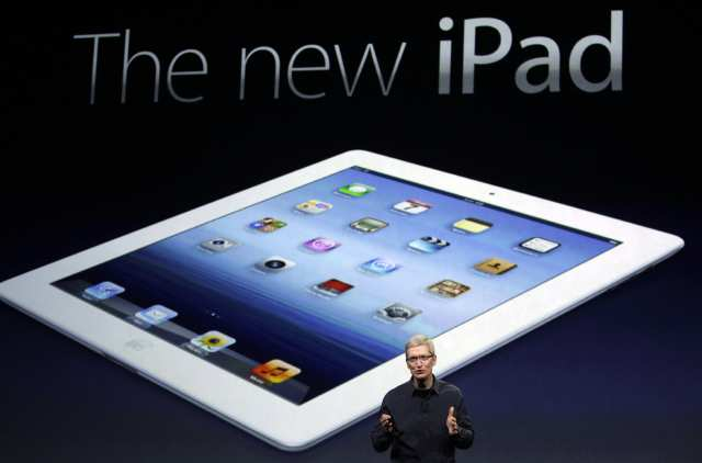 the first look of new iPad