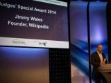 Judges' Award winner, Jimmy Wales