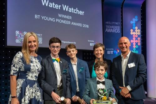 BT Young Pioneer Award Winners Water Watcher
