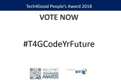 CodeYourFuture, Digital Skills Award Finalists
