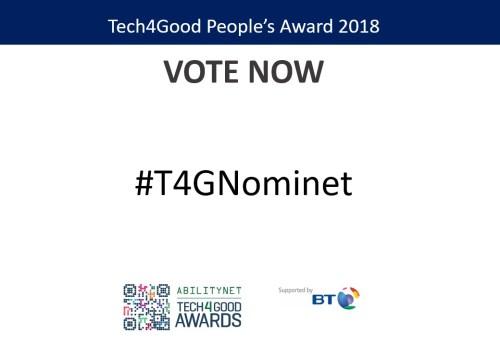 Nominet Digital Neighbourhood, Digital Skills Award Finalists