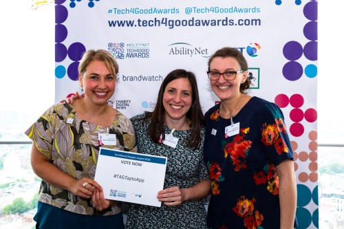 Tap to the App, Community Impact Award Finalists