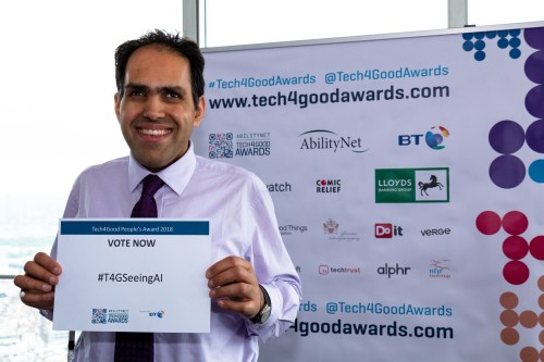 Seeing AI, Finalist in Accessibility Award