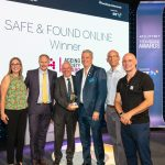 Safe & Found Online winning the Ageing Society Award