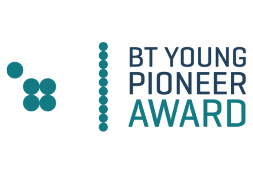 BT Young Pioneer Award logo