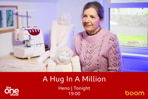 Hug being featured on the BBC One Show